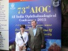 Participation in 73th All-India Ophthalmological Conference, 5-8 February, New Delhi.